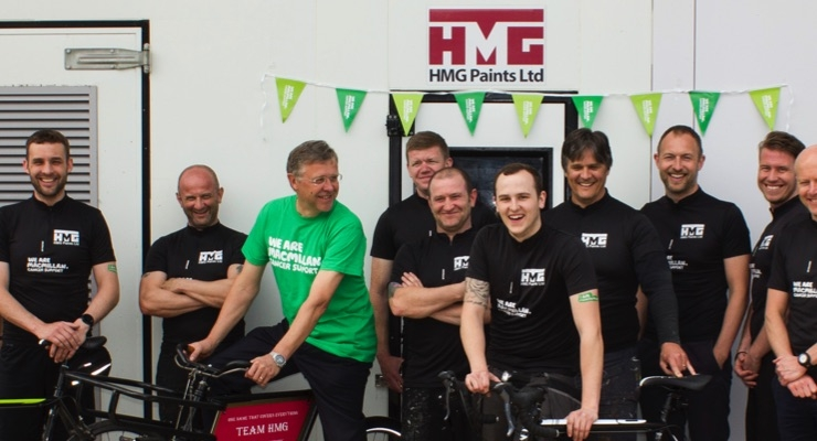 HMG Paints Bike Team