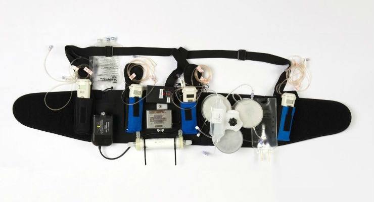Patient Trial Confirms Wearable Artificial Kidney Proof of Concept