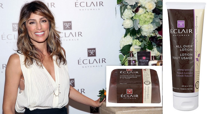 Jennifer Esposito Promotes Gluten Free Beauty Line, Eclair Naturals
