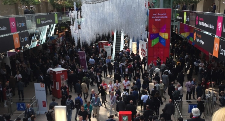 Opening Day at drupa 2016