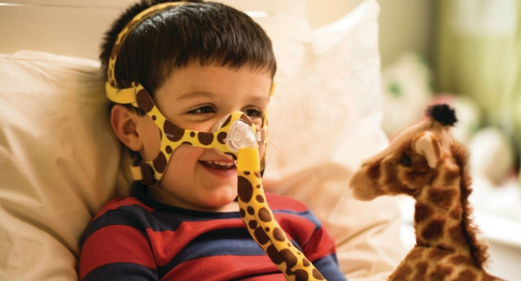 Philips Pediatric Nasal Mask Brings Big Improvements for Tiniest Patients