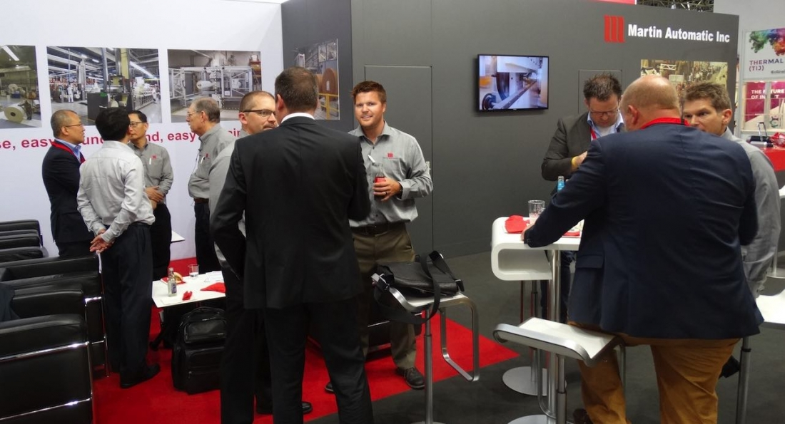 Martin Automatic reports successful drupa experience