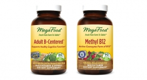 MegaFood Adds To B-Vitamin Line With Methyl B12 and Adult B-Centered