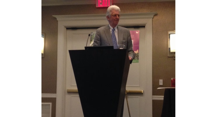 Tom Chappel, founder of Tom's of Maine, was a keynote speaker at this year's Sustainable Cosmetics Summit.