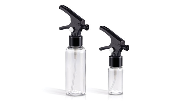 Qosmedix Introduces Mini Clear Bottles With Locking Trigger Sprayers