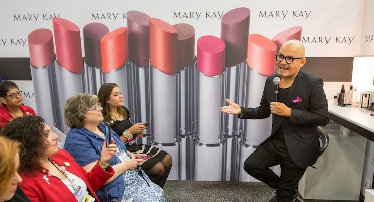 Mary Kay Recruits Celebrity Makeup