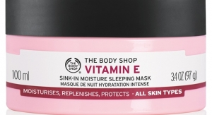 The Body Shop Launches Vitamin E Collection