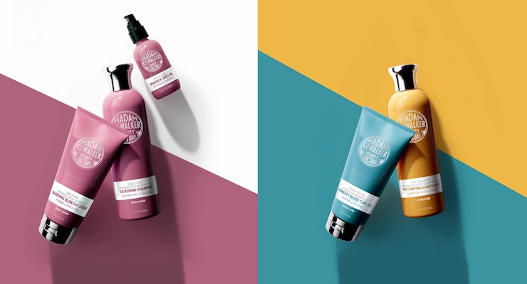 Colorful Packaging To Celebrate A Pioneer in Hair Care