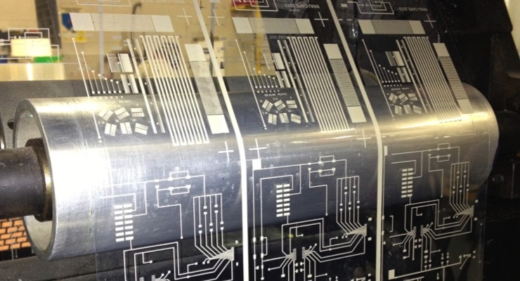 Printed Electronics on Press