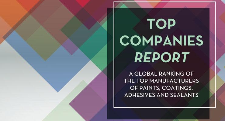 2016 Coatings World Top Companies Report
