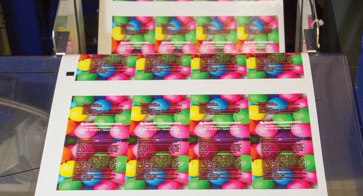SnugZ prints its labels with an Epson SurePress.