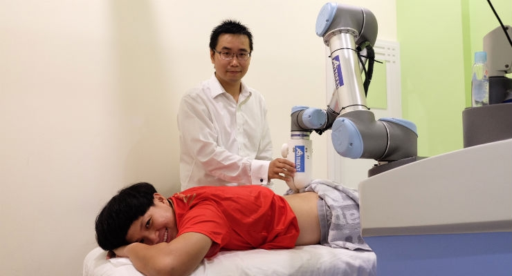 Robot Therapist Hits the Spot with Athletes