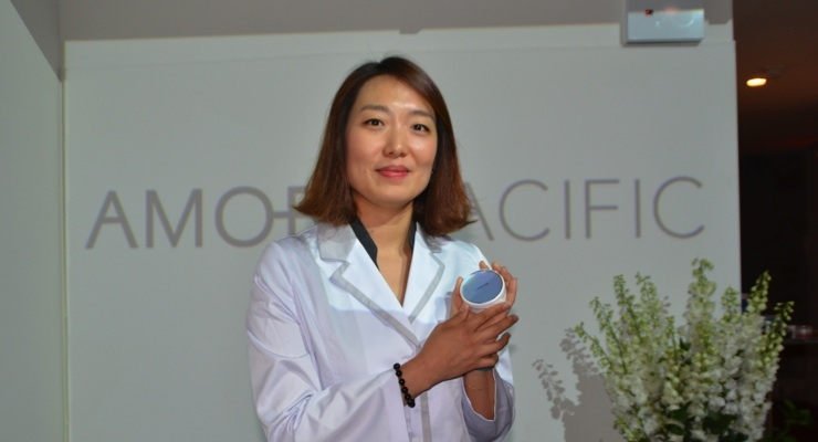 Hajin Jung, senior researcher at AmorePacific's C-Lab