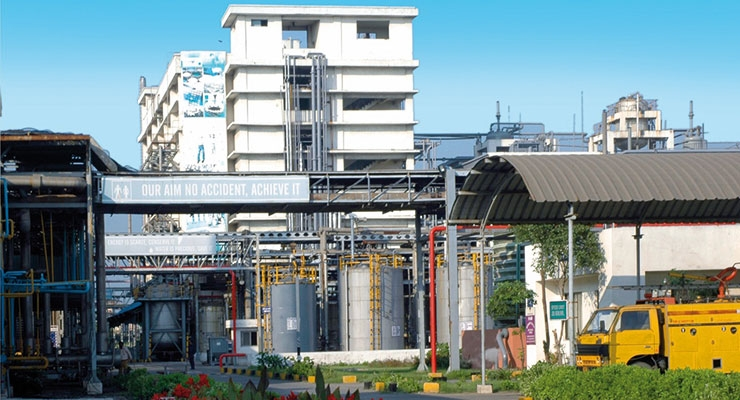 A hubergroup plant in India.