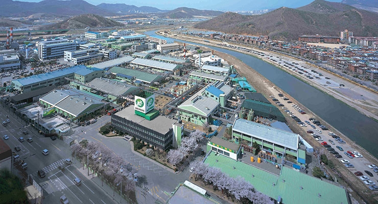 Daihan Ink's Anyang Factory.