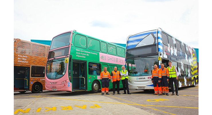 Iconic Arriva Biennial Buses Hit the Road