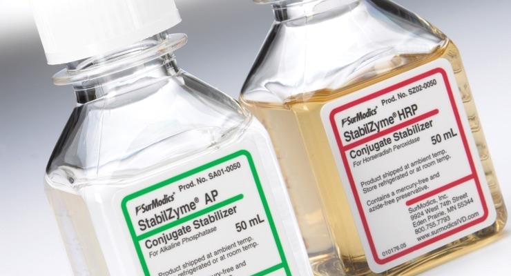 Surmodics IVD Launches Breakthrough StabilBlock Immunoassay Stabilizer
