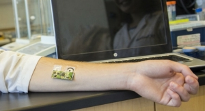 Flexible Wearable Electronic Skin Patch Monitors Alcohol Levels Through Sweat