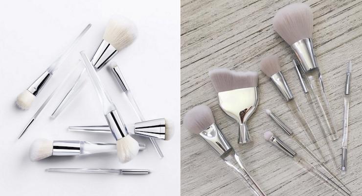 new elf brushes. e.l.f launches new stylish brush set elf brushes