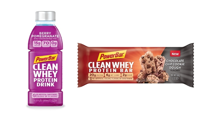 PowerBar Introduces Clean Whey Product Line