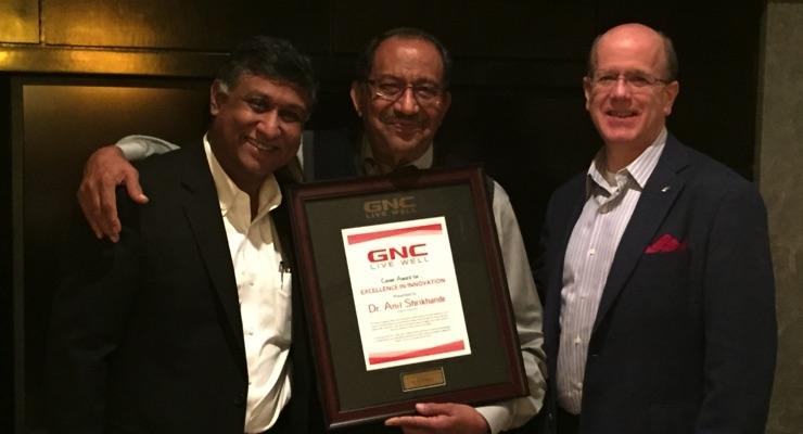 GNC Honors Former Polyphenolics President Anil Shrikhande