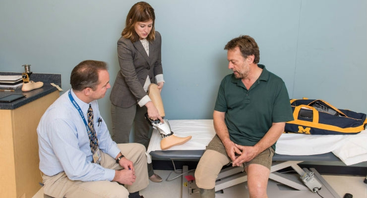 Motorized Prosthetics Improve the Lives of Amputees
