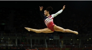 U.S.A. Gymnast Hernandez Makes Beauty Deal