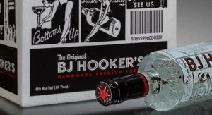 BJ Hooker's turns to Berlin Packaging for new-look vodka bottle