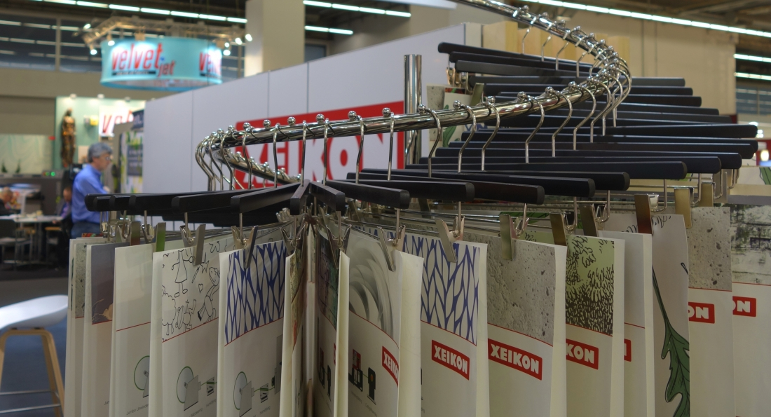 Xeikon showcases wallpaper inspiration at MoOD event