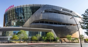 Valspar Case Study: Custom Color Coatings from Valspar Create Iconic Façade for New T-Mobile Arena