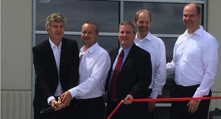 Kocher + Beck USA holds ribbon cutting celebration