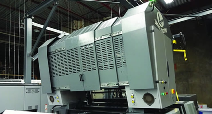 Eagle Systems, a family-owned company with a manufacturing facility in Ocean, NJ, specializes in hot and cold foil enhancement equipment.