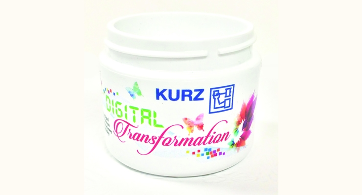 While Kurz is a global company, it produces some products that are unique to the U.S., including the Digital Heat Transfer, which is printed and produced in their Charlotte, NC facility.