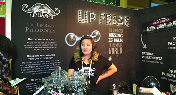 Beauty Packaging caught the buzz at Lip Freak.