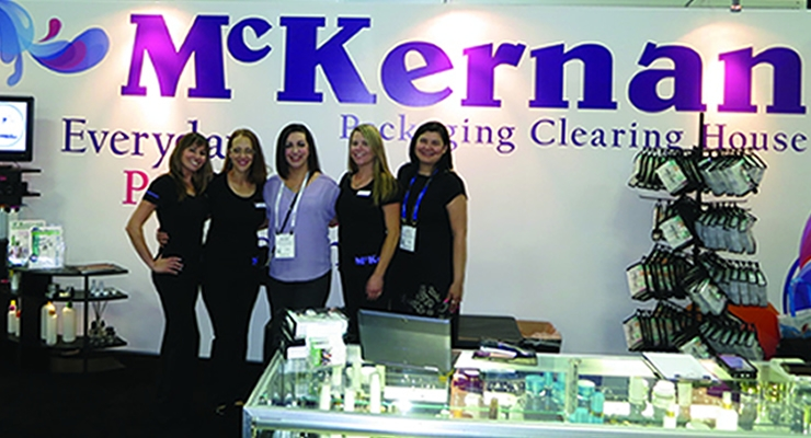 Cosmoprof NA McKernan: Melissa Drevalas at center & team