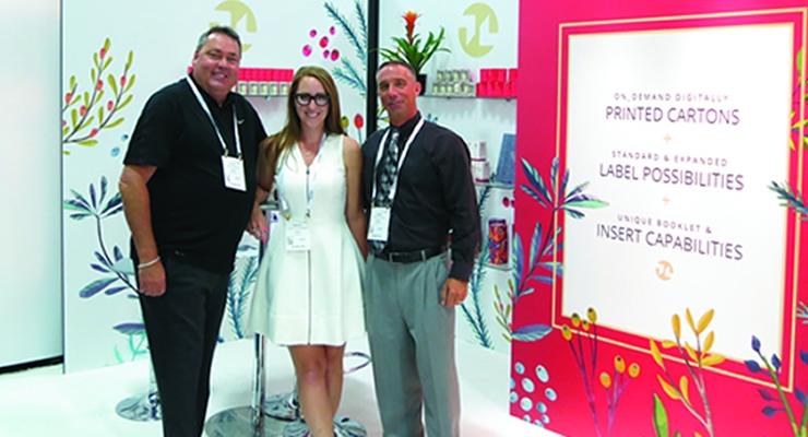 Cosmoprof NA Nosco Inc. (L-R): Scott Booth, Ashley Schubert, Craig Wilson