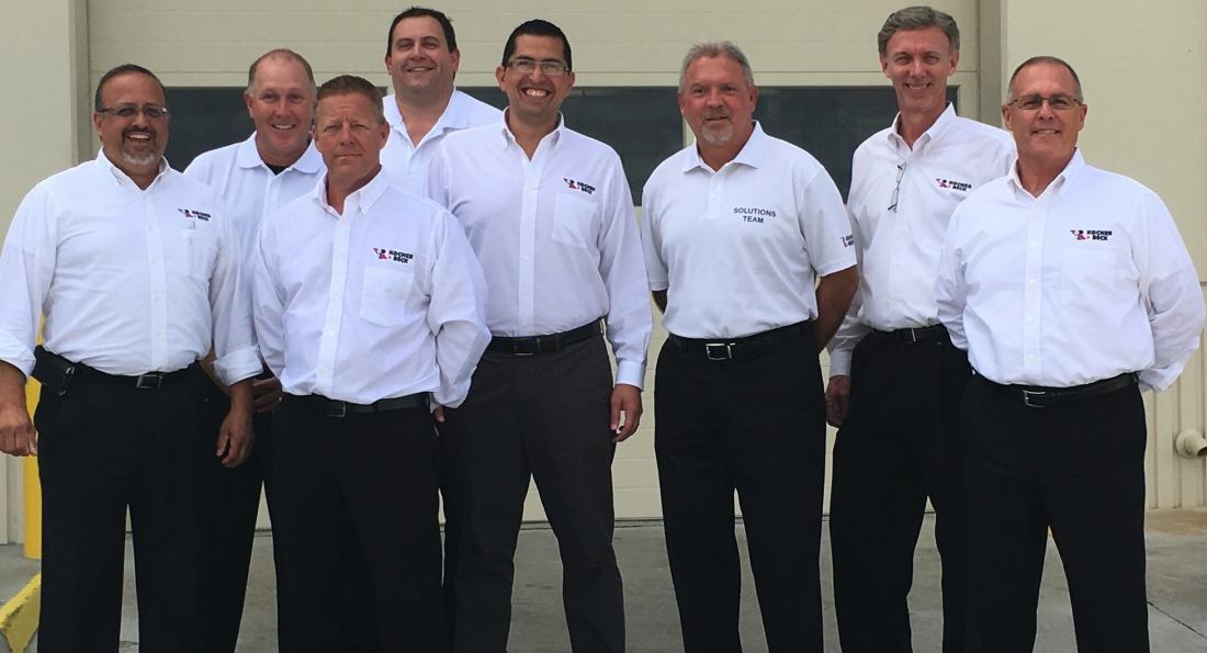 Kocher + Beck USA sales team comes together in Kansas