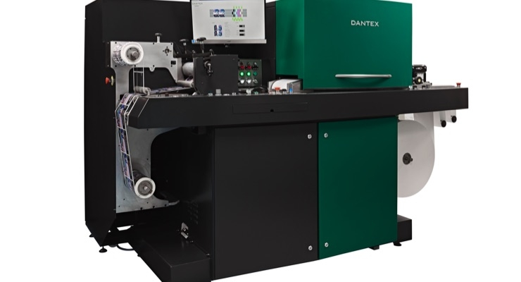 The press features a printing width of 210mm and running capacity of 35 m/m.