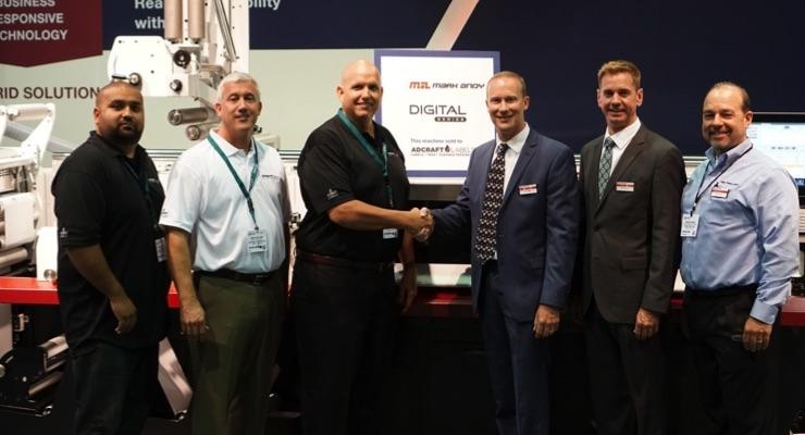 Adcraft Labels orders Mark Andy Digital Series hybrid press