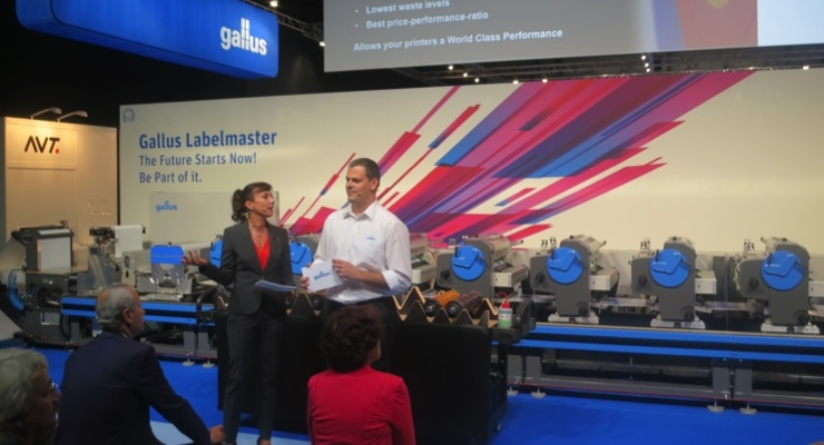 Gallus debuts Labelmaster in Switzerland