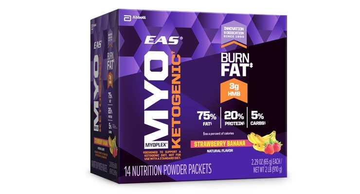 EAS Sports Nutrition Launches Myoplex Ketogenic Shake