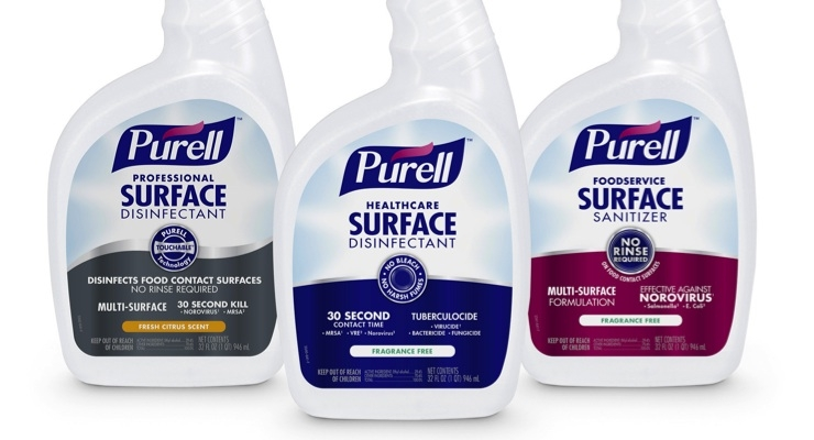 Purell Enters Surface Care Category