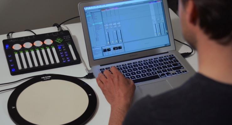 BeBop Sensors' BopPad Utilizes Smart Fabric Sensor for Drums