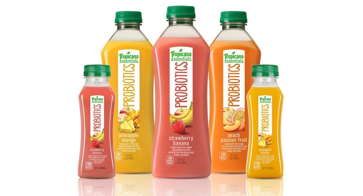 Tropicana Launches New Juice with Probiotics