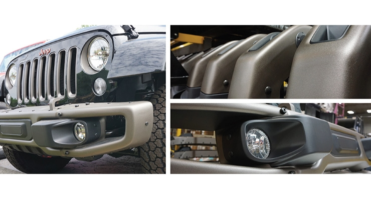 TCI Powder Coatings Provides Innovation for Jeep's 75th Anniversary