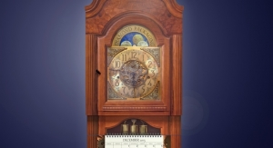 Diamond Packaging's Grandfather Clock Calendar is a Timeless Example of Printing