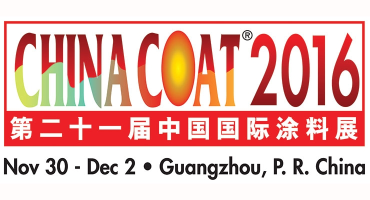CHINACOAT2016 To Be Held November 30 – December 2 in Guangzhou