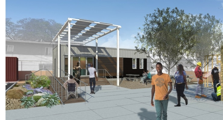 Valspar Case Study: GreenZone Education Center Delivers Sustainable Design for Compton Youth