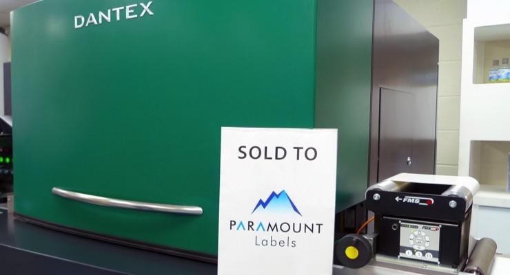 Paramount Labels invests in Dantex PicoColour Digital Press