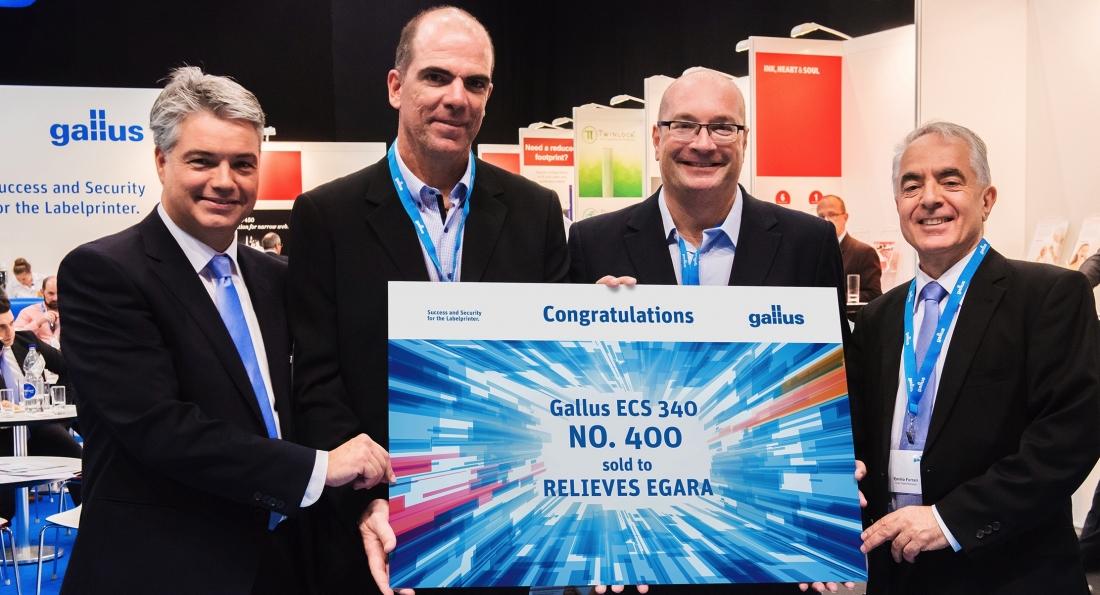 Gallus sells 400th ECS 340 Series label press